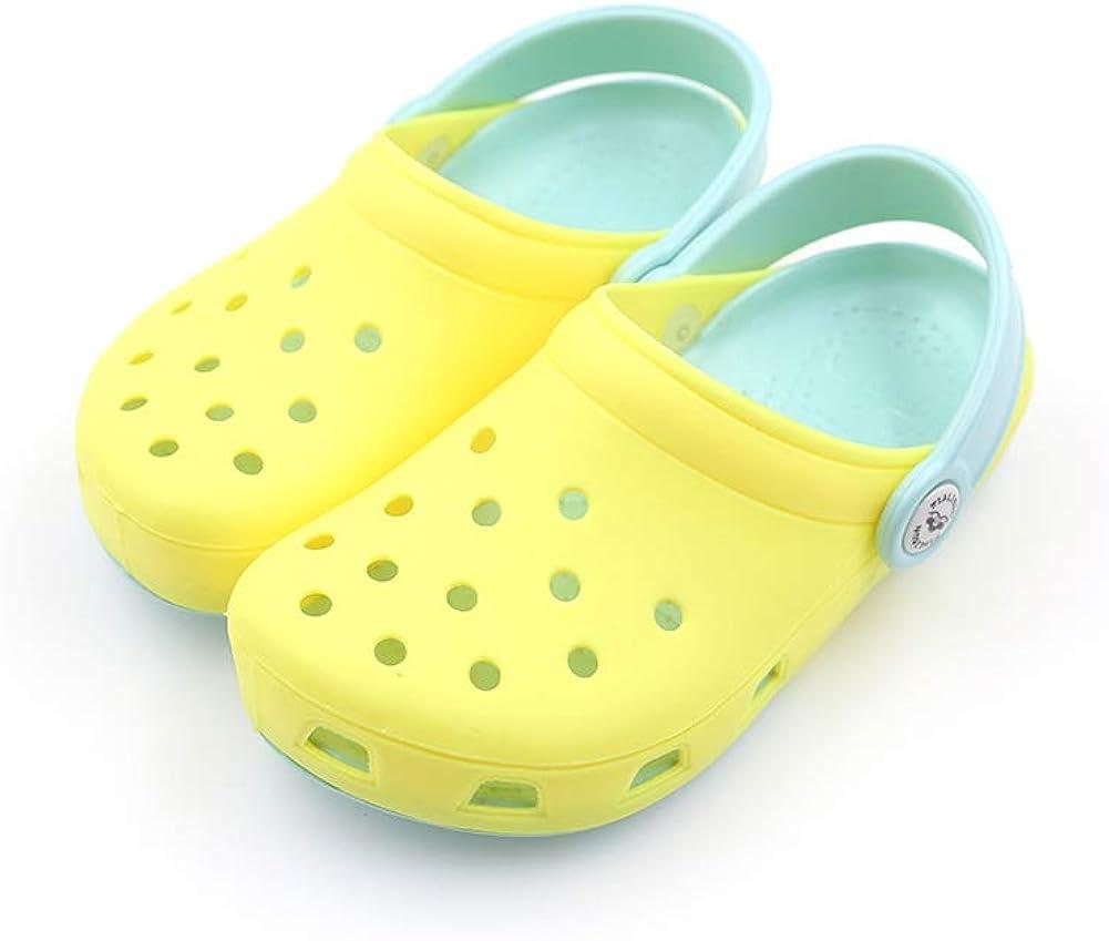 ETERNITY J. Kid's Clog Slide Sandals Garden Slip On Water Shoes Children Slide Beach Pool Shower Slippers Mules for Toddlers Boys Girls