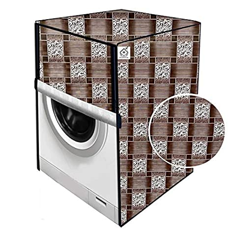 Jm Homefurnishings Washing Machine Cover For Ifb 6 5 Kg Fully Automatic Front Loading Elena Zxs Abstract Print Amazon In Home Kitchen