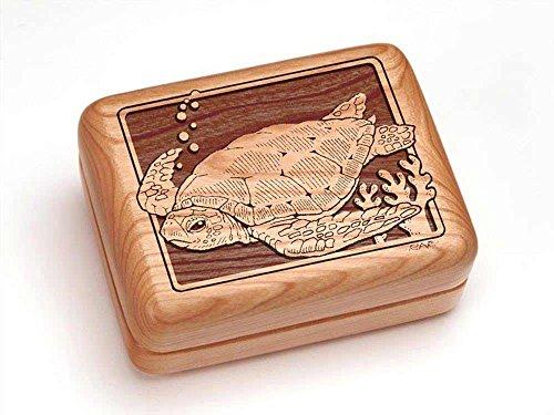 Single Deck Card Box - Sea Turtle