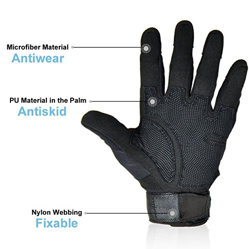 Review Ventilate Wear-resistant Tactical Gloves