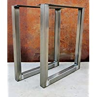 Metal table legs/Steel Desk legs, Made in the USA !!! Any Size !!! Ships Next Business Day !!!