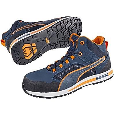 783329c45a664d Puma 633140.39 Chaussures de sécurité Crossfit Mid S3 HRO SRC Taille 39,  Bleu Orange