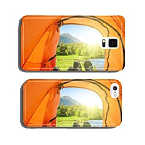 camping in mountains cell phone cover case iPhone6