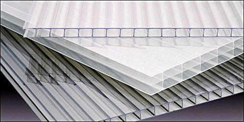 (Polycarbonate Greenhouse Cover 8mm - Clear (Pak of)