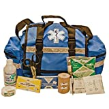 Certified Safety K610-003 TSB1 Team Sport Bag First Aid Kit in Blue Cordova