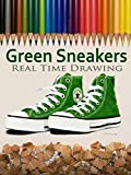 Green Sneakers Real Time Drawing