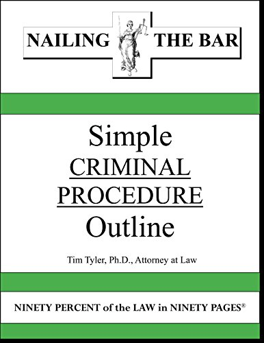 criminal procedure outline Prohibits use of items obtained as a result of an unreasonable search and seizure as evidence against a criminal defendant mapp v criminal procedure outline.