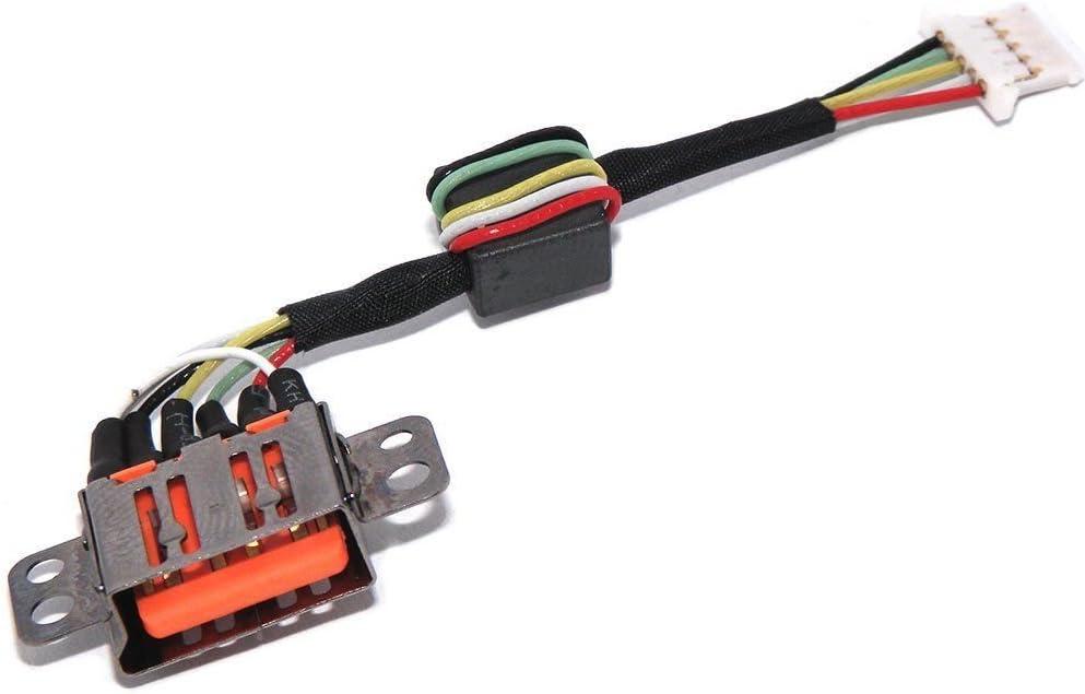 DC POWER JACK PLUG w//CABLE HARNESS for Lenovo Yoga 3 11 3-1170 DC30100TX00
