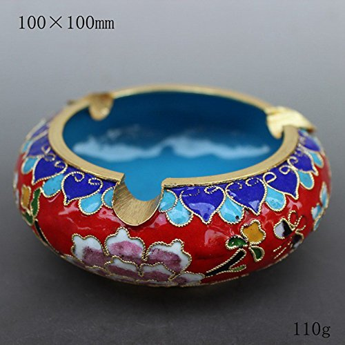 l Cloisonne ashtray, office room Home Furnishing creative fashion, decoration ()