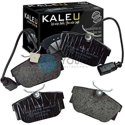Kale 7d0698451b Rear Axle Set of Brake Pads Brake Pads: