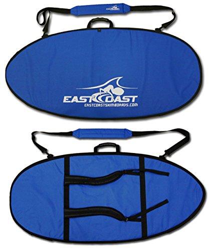 East Coast Skimboards ECS Skimboard Padded Travel Bag with Backpack Straps - Small 45