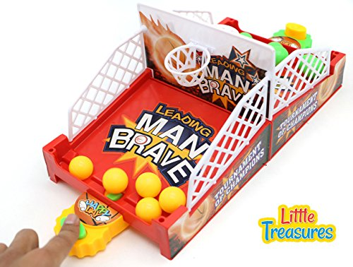 Head-to-Head Crazy Basketball Shootout Game Set Series from Little Treasures Brings the Excitement of Free-throw Basketball Home