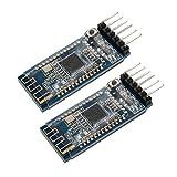 Sunhokey 2pcs BLE 4.0 Bluetooth Module for arduino CC2540 CC2541 Serial Wireless Module Compatible HM-10