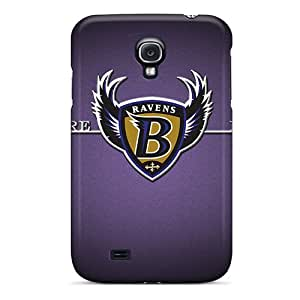New Snap-on MiniBeauty Skin Case Cover Compatible With Galaxy S4- Baltimore Ravens
