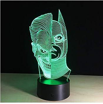 Attack on Titan Anime 7 Color Changing Night Light Alarm Clock Kid Xmas Gift