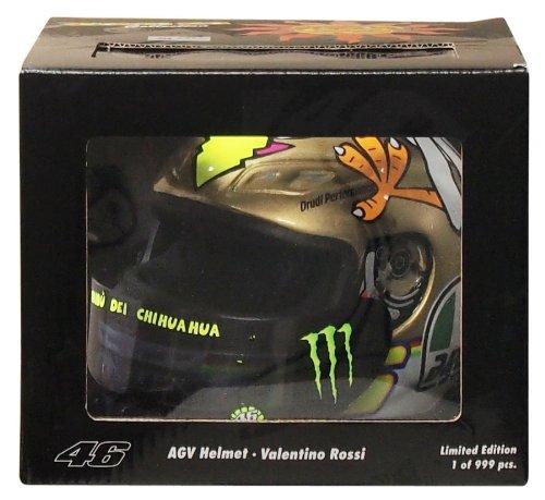AGV 1: 2 Escala Casco Valentino Rossi MotoGP Valencia 2009: Amazon.es: Juguetes y juegos