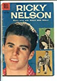 RICKY NELSON #956-1958-PHOTO COVER #1-DELL-vg