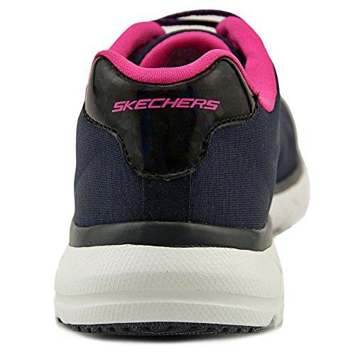 Skechers pour Marine Bleu Chaussons gymnastique de femme qSRqC