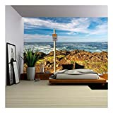 wall26 - Usa Pacific Coast Landscape, Oregon State - Removable Wall Mural | Self-adhesive Large Wallpaper - 66x96 inches