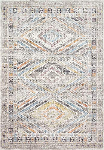 (Loloi II DN-01 Dante Collection Modern Traditional Area Rug, 5'-3
