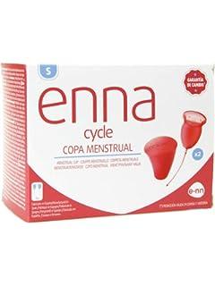 Enna Cycle Copa Menstrual con Aplicador, Talla S: Amazon.es