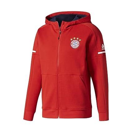 c47327a78 Amazon.com   adidas FC Bayern Munich Anthem Squad Jacket  FCBTRU  (L ...