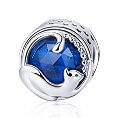 ✦Delicate 925 sterling silver bead charms, compatible with Biagi, Troll and Chamilia European bracelets; fit for both necklace and bracelet.✦Hypoallergenic high polished finish, excellent craftsmanship and quality, tarnish resistant and would...