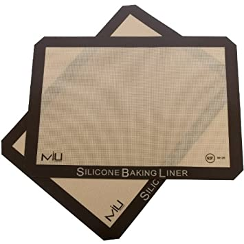 MIU Francia 99121 hornada del silic-n Liners - 2-Pack Para las bandejas para hornear: Amazon.es: Hogar