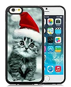 2014 Latest Case For Sumsung Galaxy S4 I9500 Cover Case,Christmas Cat Black Case For Sumsung Galaxy S4 I9500 Cover PC Case 32