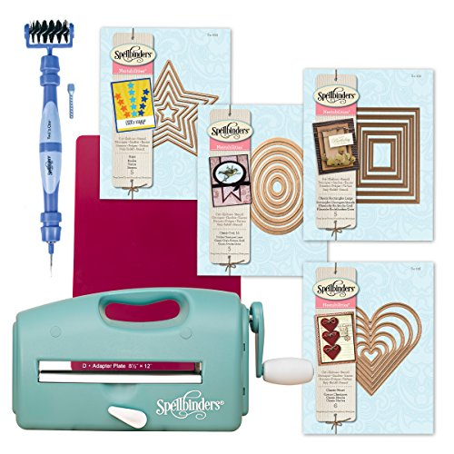 Spellbinders Grand Calibur Die Cutting Machine Starter Bundle by Spellbinders