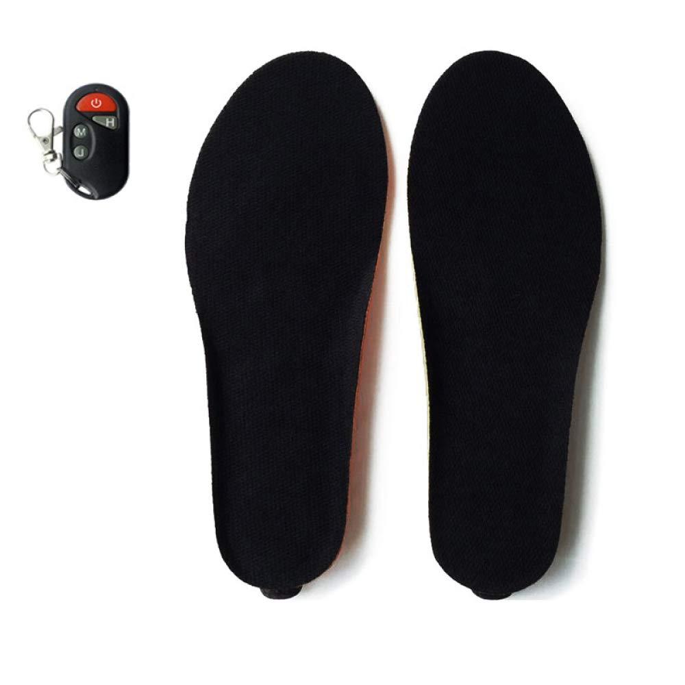 DZX Beheizte Einlegesohle Wärmeeinlage Fußwärmer, Unisex Winter Indoor Und Outdoor-Aktivitäten,schwarz-29.5cm B07HK11XL1 Fuwrmer Neu