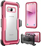 i-Blason Galaxy-S8-Armorbox-Pink Galaxy S8 Case, [Armorbox] [Full Body] [Heavy Duty Protection ] Shock Reduction/Bumper Case Without Screen Protector for Samsung Galaxy S8 2017 Release (Pink)