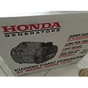 Honda Generator EU2000i Camo (2000 Watt Camouflage Generator by Honda)