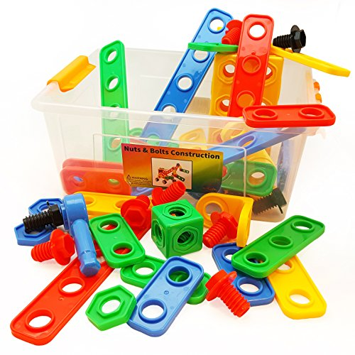 Engineering Toys For Boys : Skoolzy stem toys for boys and girls nuts bolts