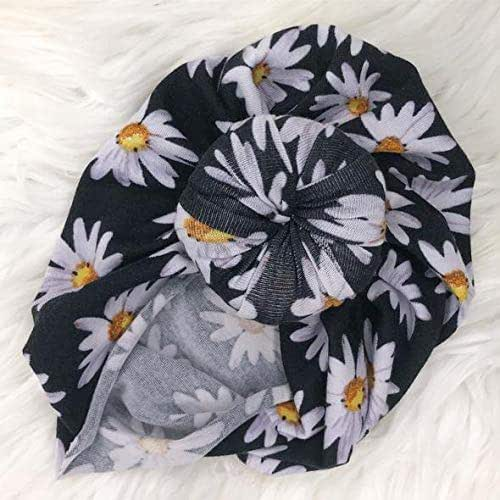 26f8557d7fa24 Amazon.com  Daisy Floral Black Turban Colors Top Knot Turban