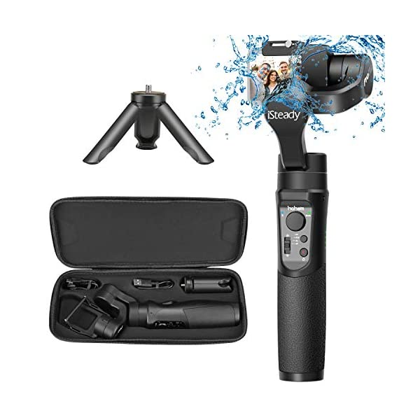 Tracking Hohem Gopro Gimbal iSteady Pro 3-Axis Stabilizer Handheld Action Camera for Gopro Hero 7//6//5//4//3 DJI osmo Action Yi Cam 4K Auto Panoramas SJCAM Sports Cams APP Controls for Time-Lapse AEE