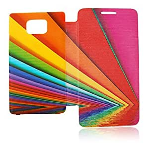 Buy Inverted Image Line Leather Case for Samsung Galaxy S2 I9100