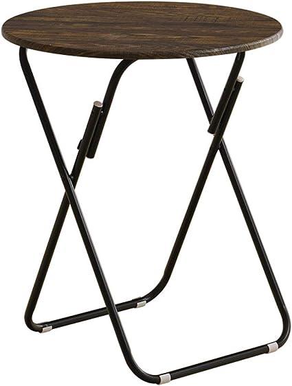QYJ-Mesas Hogar moderno cocina comedor mesa de bronce al aire ...
