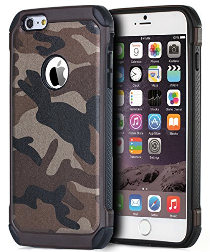BENTOBEN Shockproof Leather Camouflage Protective