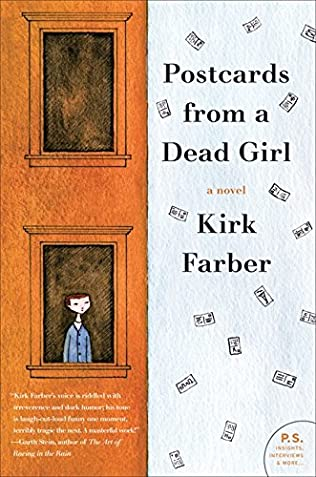 book cover of Postcards from a Dead Girl