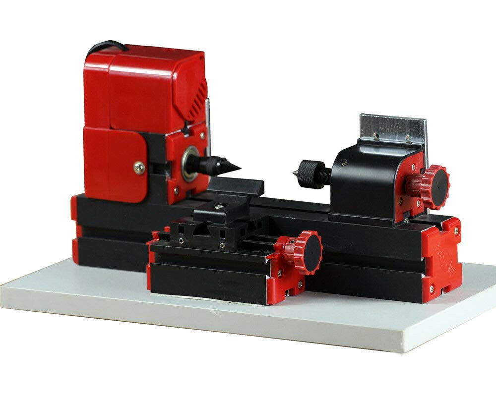 ZHOUYU 24W Mini Wood-turning Lathe Machine Edition DIY Power Tool Woodworking Handmade Carpenter