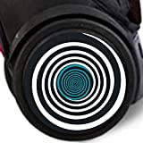 Adhesivos Nikidom Roller Wheel Sticker Circles