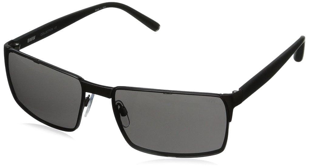 BMW Men's B6504 Classic Rectangle Sunglasses