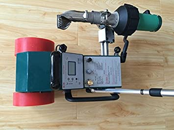 lc3000d aire caliente Banner Soldador máquina PVC pancarta de costura máquina de soldadura 1800 W 110 V o 220 V 220V: Amazon.es: Hogar