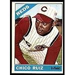 Baseball MLB 1966 Topps #159 Chico Ruiz EX/NM Reds