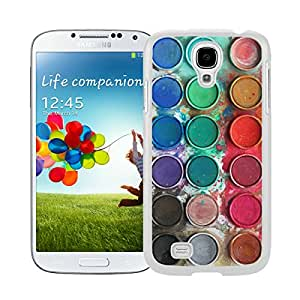 BINGO Brand new Watercolor Sets Witeh Brushes Samsung Galaxy S4 i9500 Case White 14