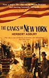 The Gangs of New York by Herbert Asbury front cover