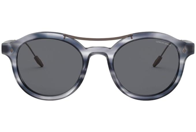 Armani GIORGIO 0AR8119 Gafas de sol, Striped Grey, 50 para ...