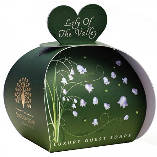 Lily of the Valley - Luxury Guest Soaps by The English Soap Company (Valley Luxury Soap)