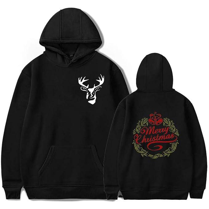 Maisley Unisexo Navidad Saltador Suéter Sudaderas sin Capucha 3D imprimió Xmas Invierno Sweater Jersey: Amazon.es: Ropa y accesorios
